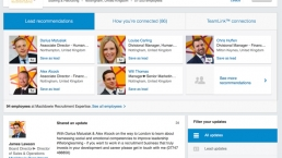 linkedin sales navigator start page