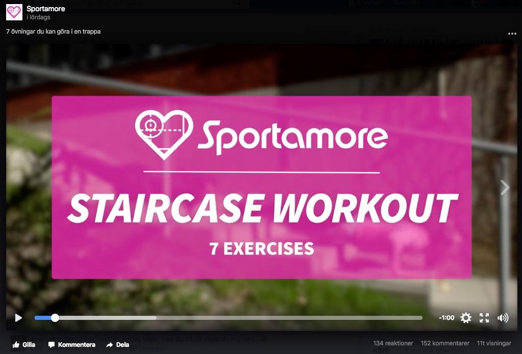 Exempel på content marketing 2 Sportamore