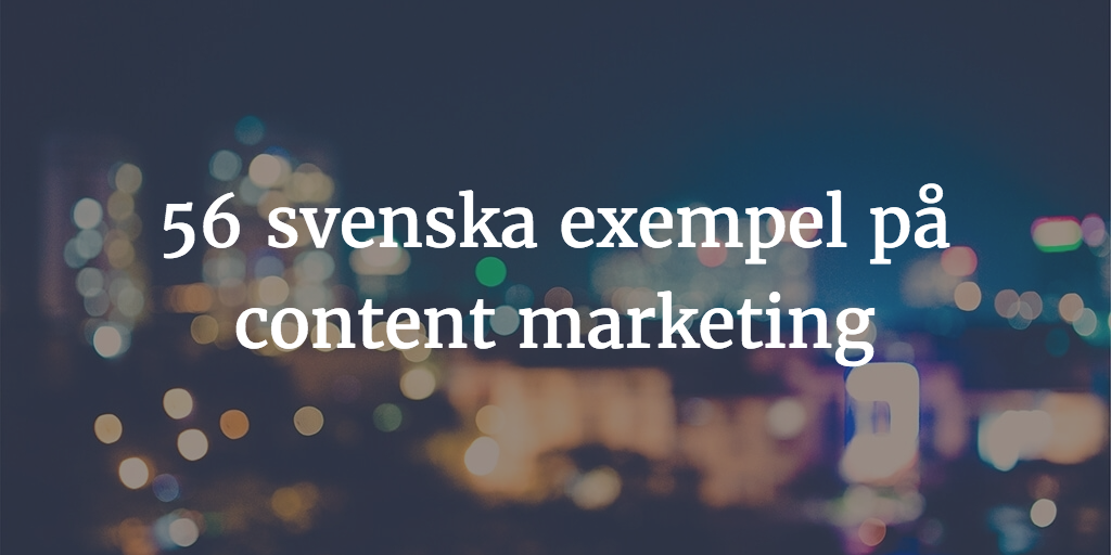 content marketing exempel