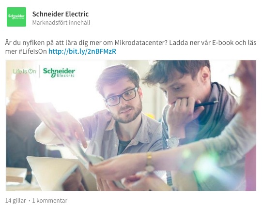 exempel schneider electric