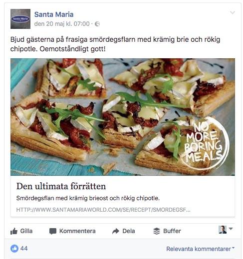 santa maria content facebook