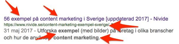 sökoptimering tips företagsblogg