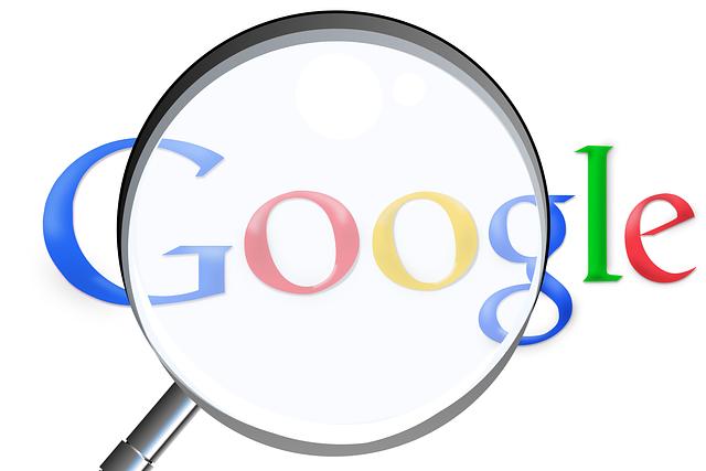 hamna i topp hos google